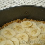 Banoffee Pie, couche de bananes