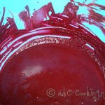 Red Velvet Cupcakes, chocolat vanille colorant