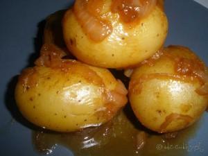 Pommes de terre & Oignon mijotés