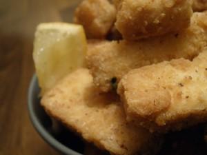 Spicy tofu fries